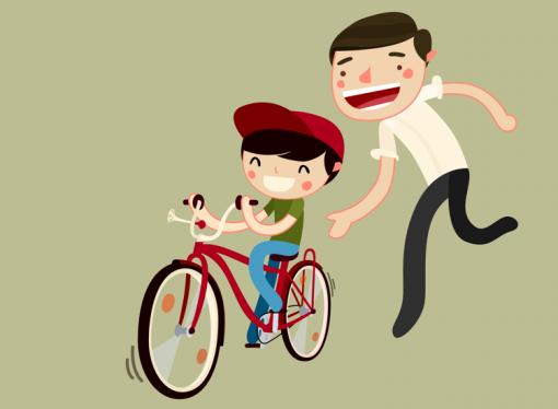 Обучение велосипеда