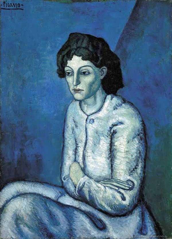 Pablo-Picasso_Femme-aux-Bras-Croises_19011