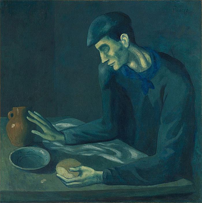 Pablo-Picasso_Le-repas-d-aveugle_1903
