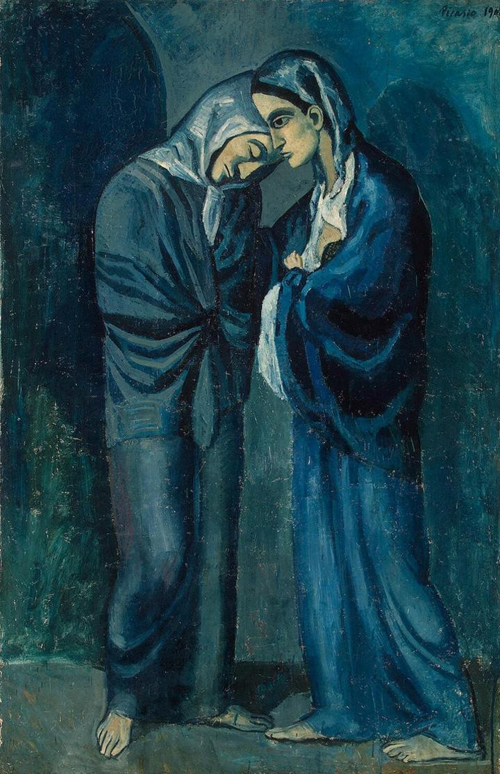 Pablo-Picasso_Les-deux-soeurs_1902
