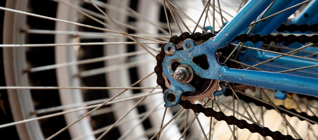 Обычная история: велосипед