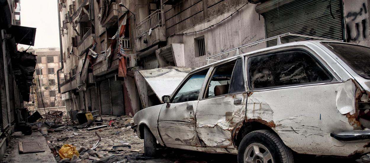 Траектория попаданий (допустим, в Алеппо)