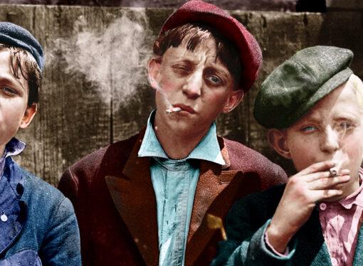 Дети курят