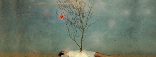 Яблоко в небе (жалко)